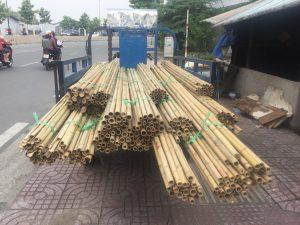 Đặt mua nguyên liệu tre nứa tại Sài Gòn