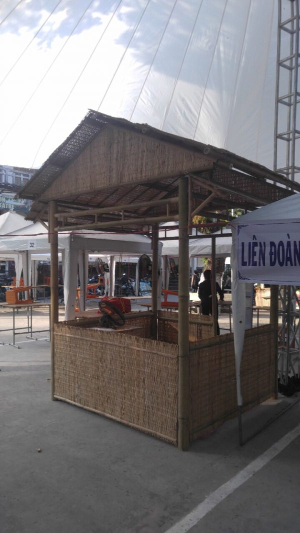 Đơn vị thi công tre trúc cho hội chợ đẹp ấn tượng