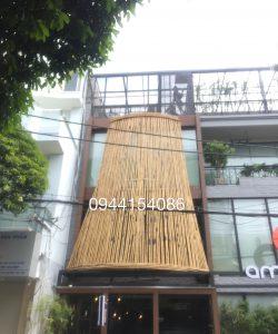 Thi công nhà bằng tre trúc