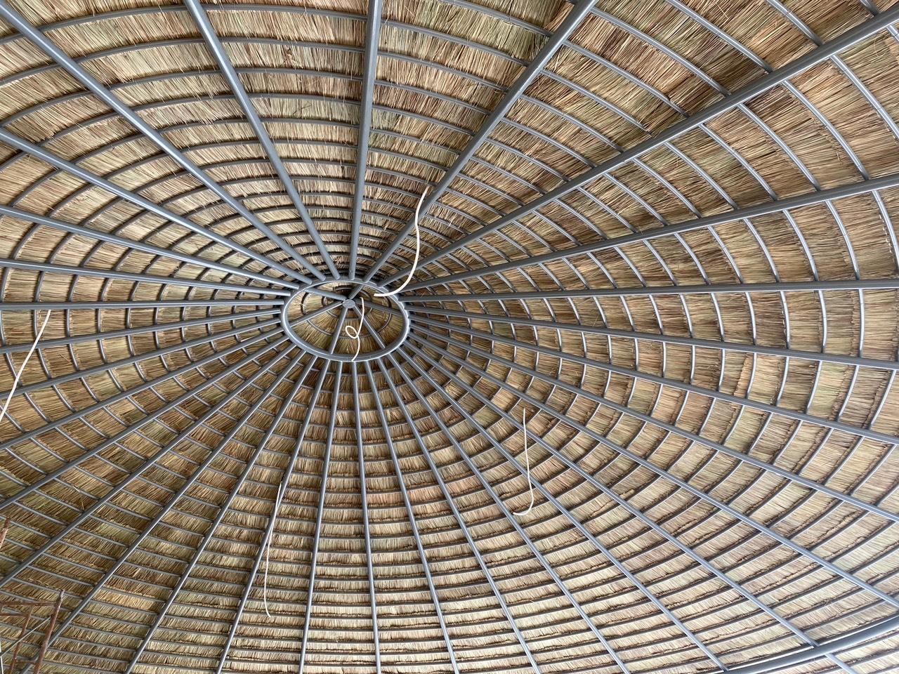 Lợp mái lá tranh tại Đồng Nai