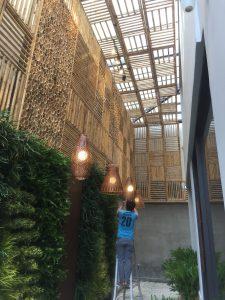 ốp trần nhà ở, quán ăn, nhà hàng hay resort