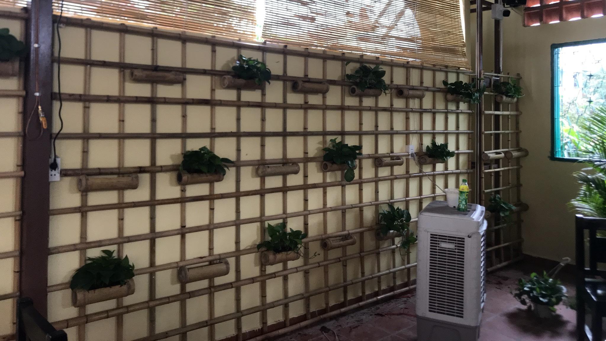 Trang trí tre trúc cho hệ thống nhà hàng Quê Nhà