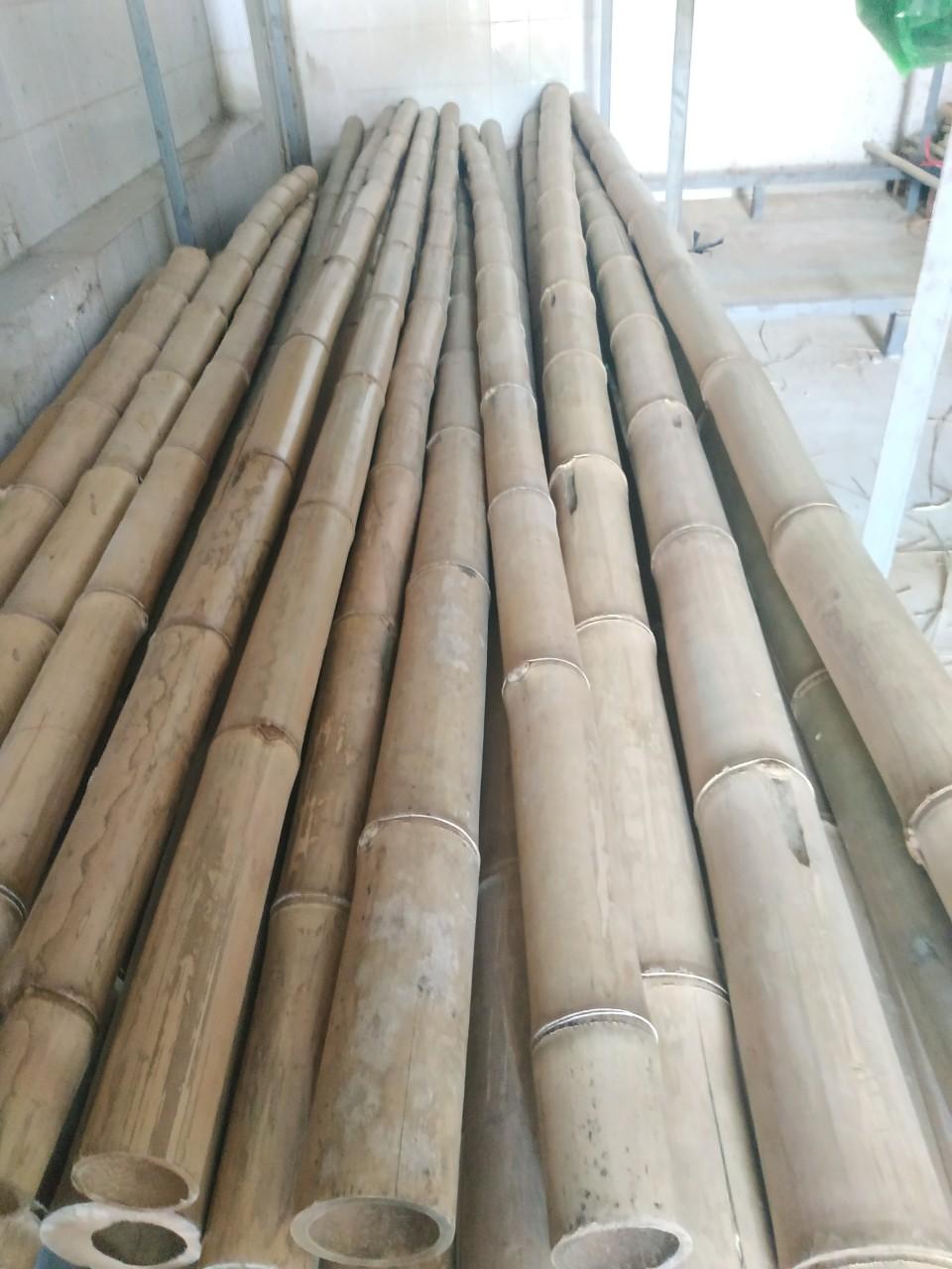 Nguyên liệu tre luồng khô phục vụ cho xây dựng